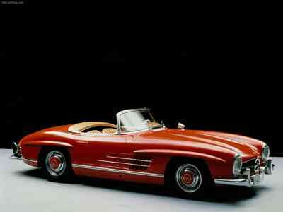 The 1957 Mercedes Benz 300SL