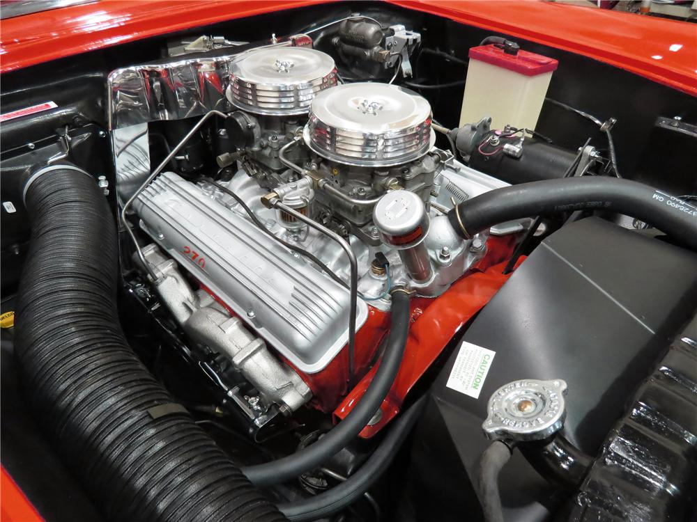 1957 C1 Corvette Engine