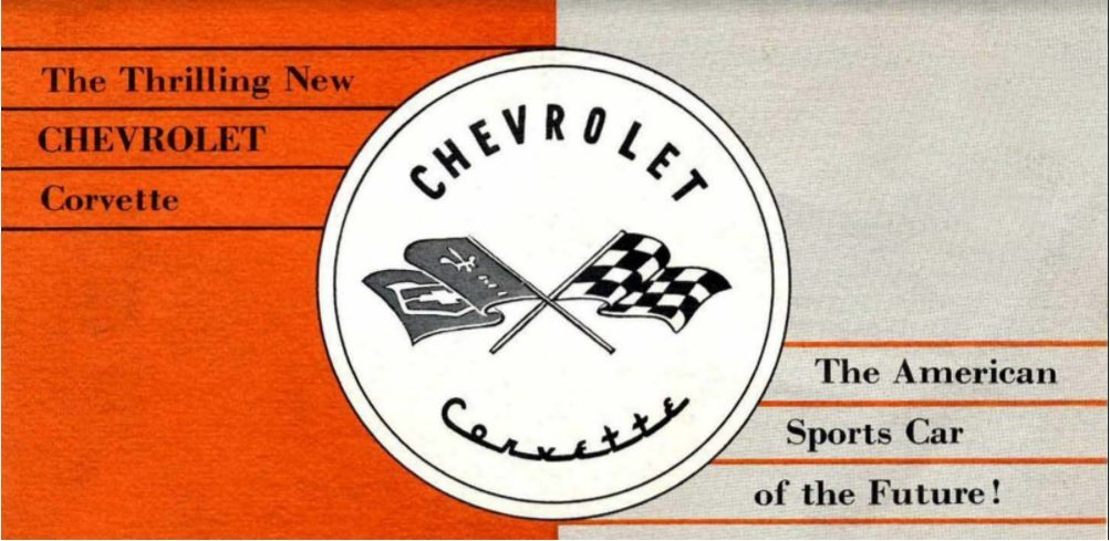 1953 Corvette Dealers Sales Brochure