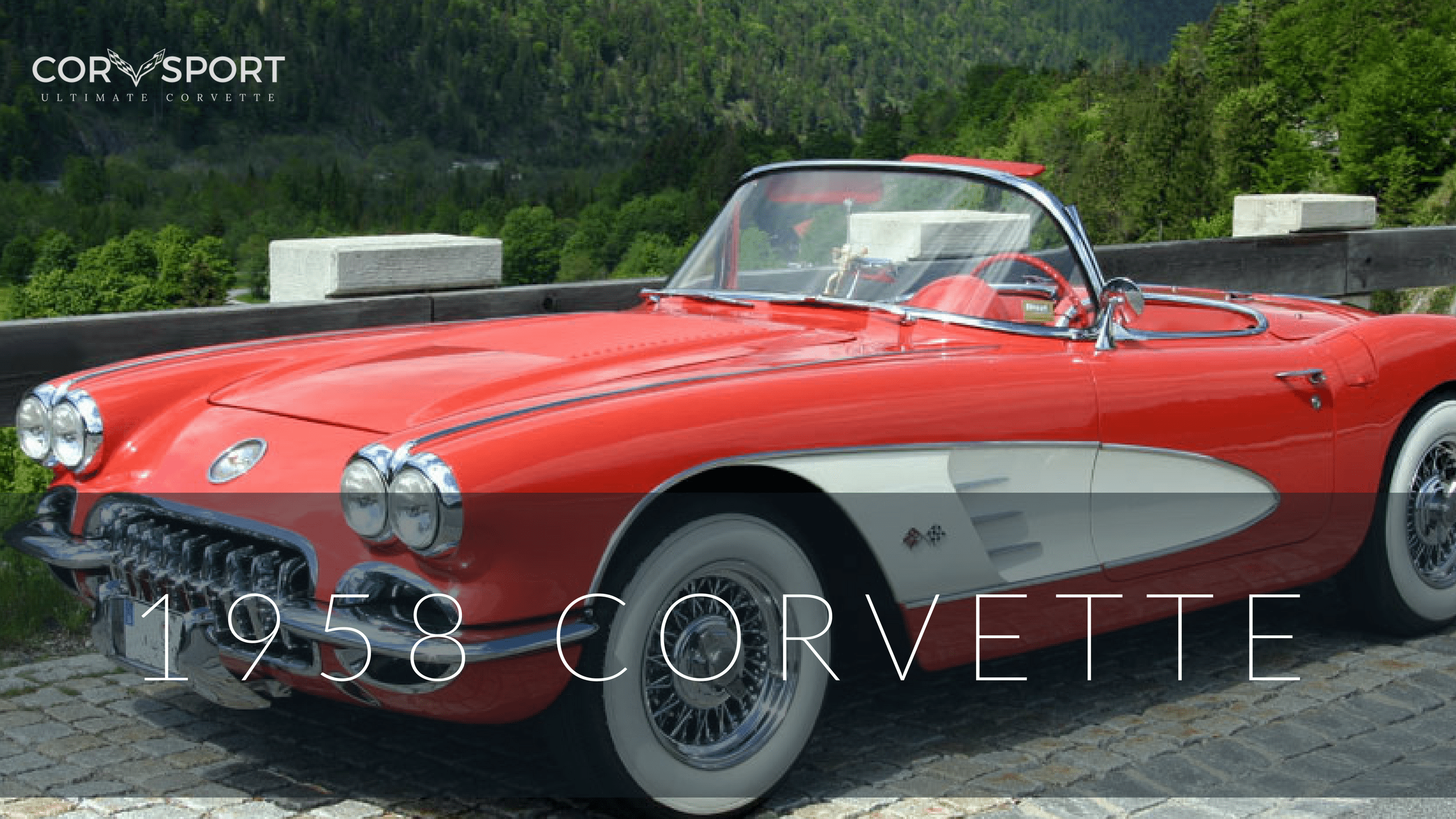 1958 Corvette Tile