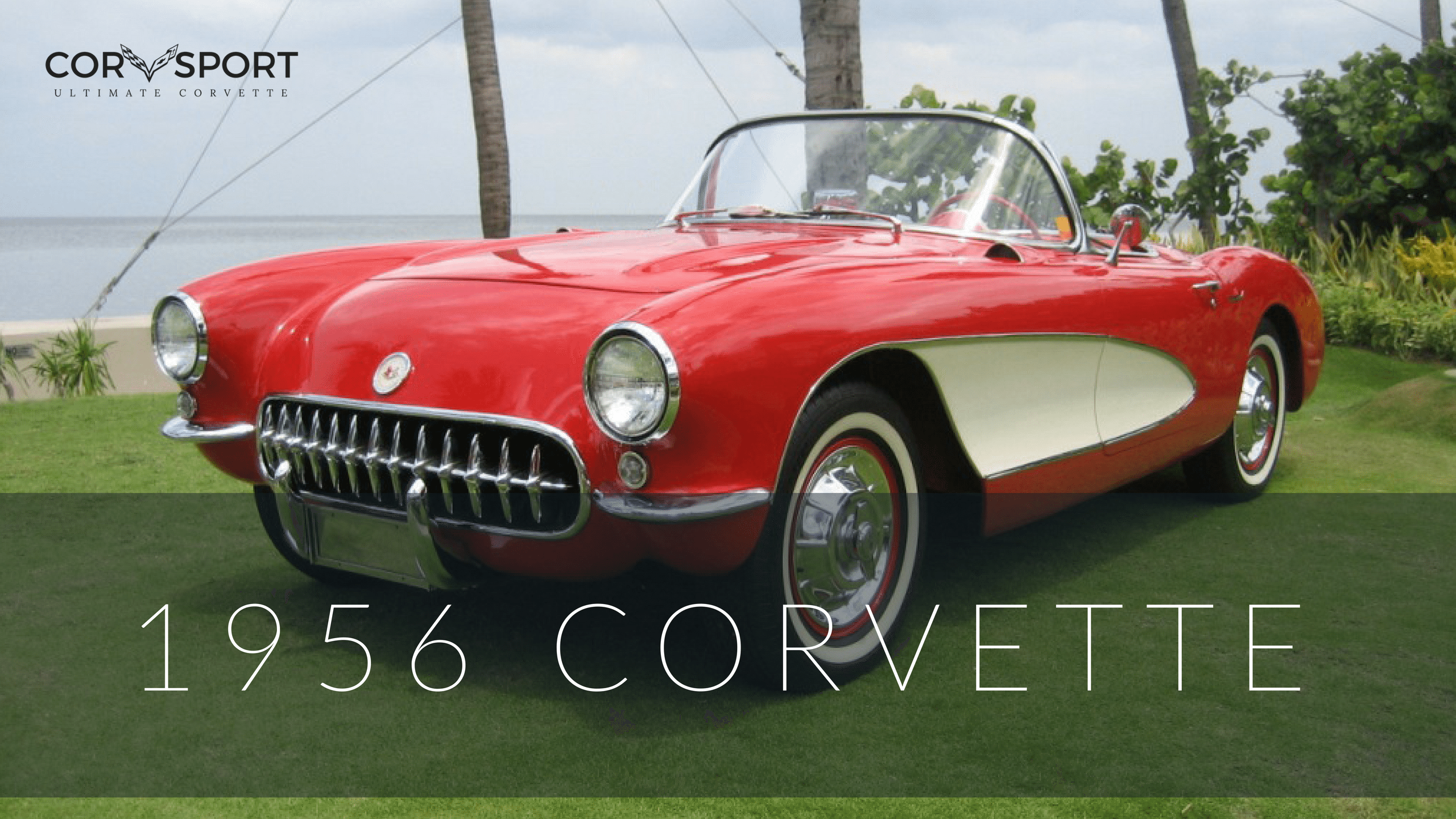 1956 C1 Corvette Ultimate Guide Overview Specs Vin Info 1955 Chevy Frame Number Location