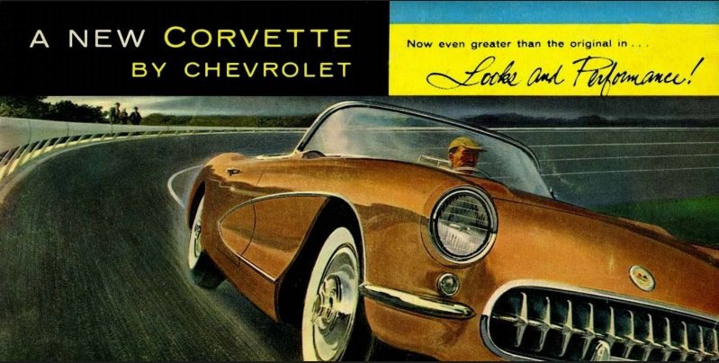 1956 Corvette Dealers Sales Brochure