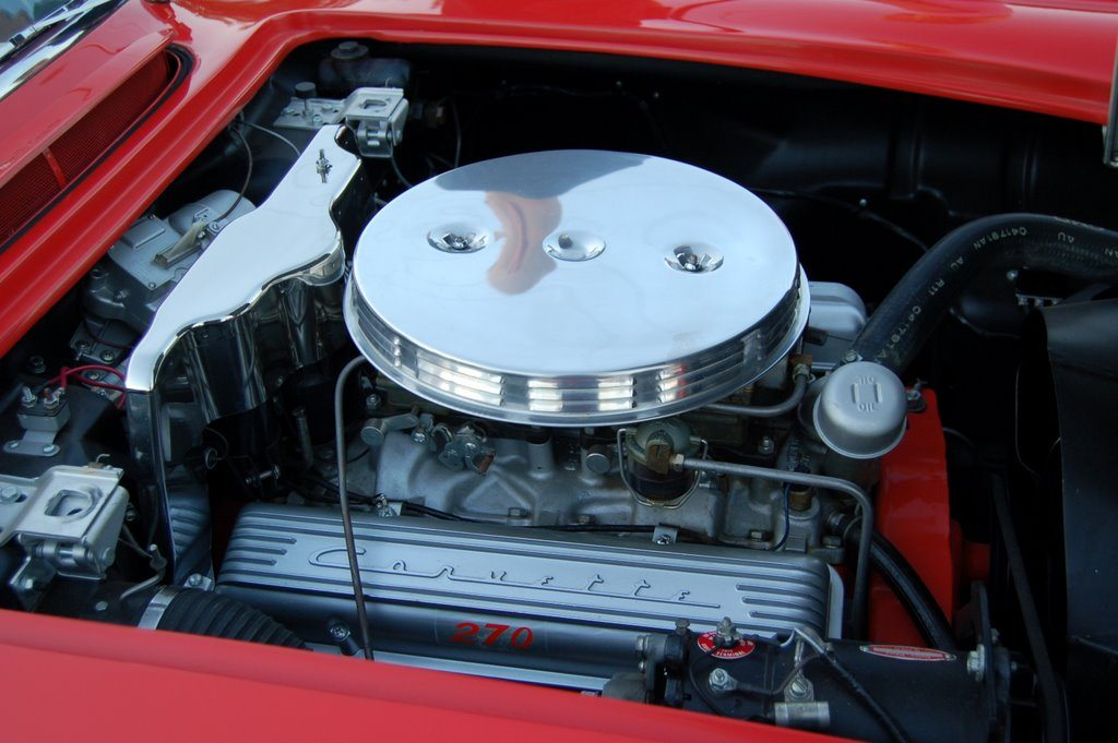 1958 C1 Corvette Engine