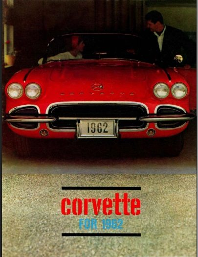 1962 Corvette Dealers Sales Brochure