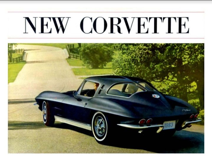 1963 Corvette Dealers Sales Brochure