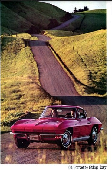 1964 Corvette Dealers Sales Brochure