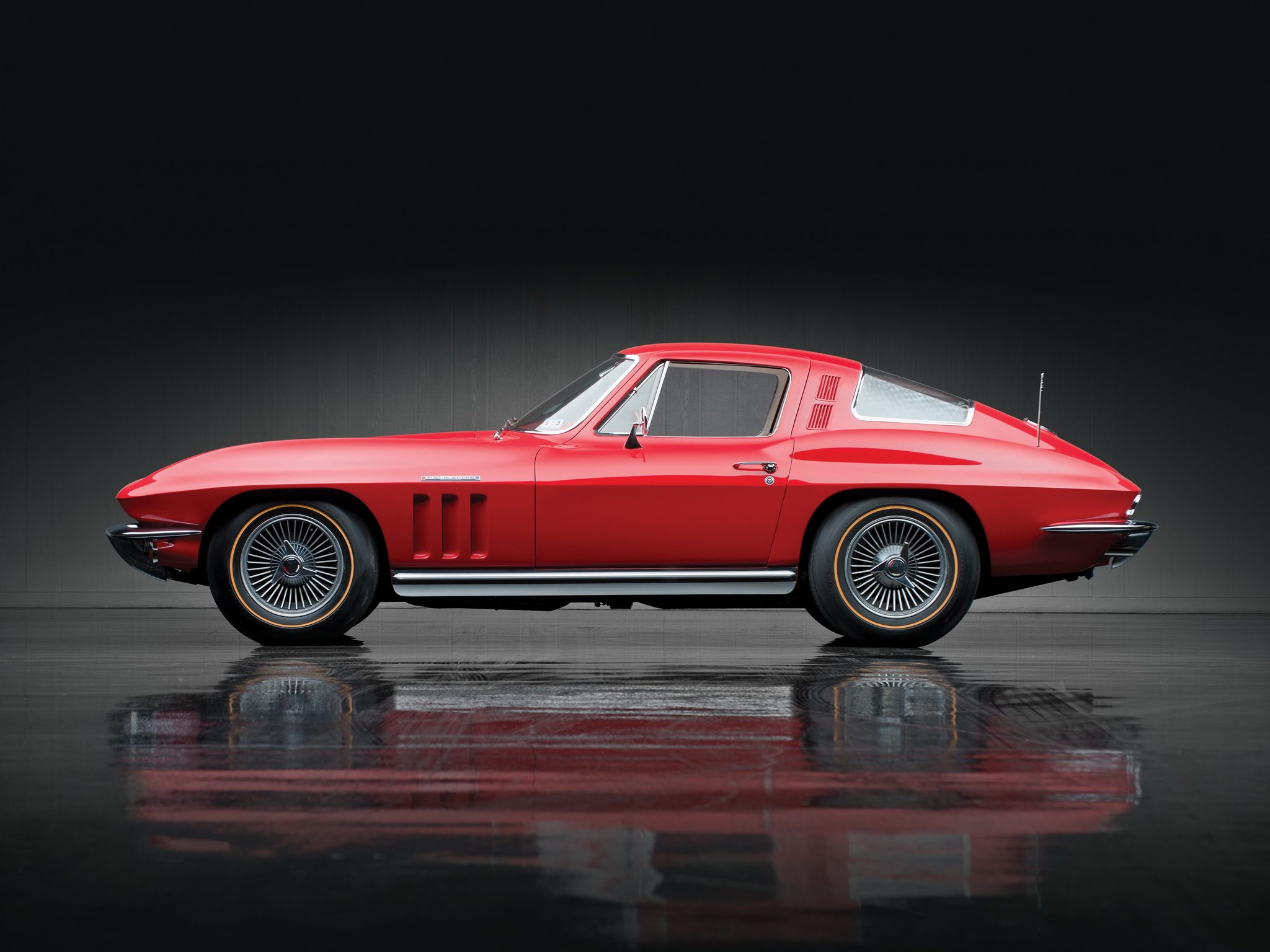 Chevrolet Corvette Sting Ray L Fuel Injection C Supercar Muscle Classic Gh X