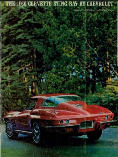1966 Corvette Dealers Sales Brochure