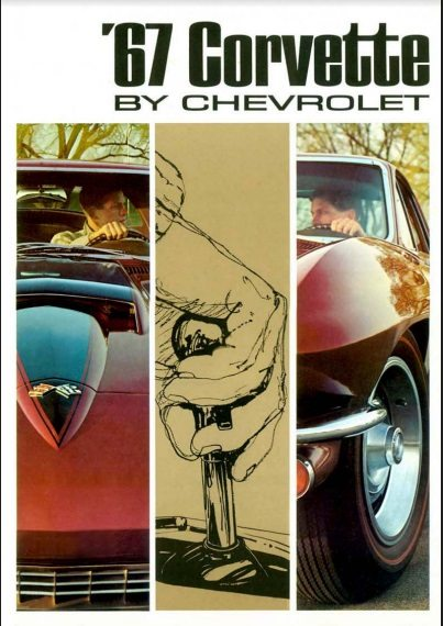 1967 Corvette Dealers Sales Brochure