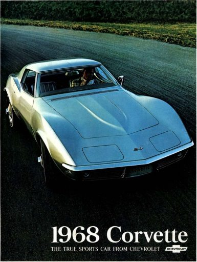 1968 Corvette Dealers Sales Brochure