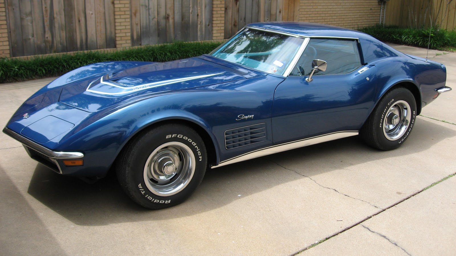 Corvette Blue Paint