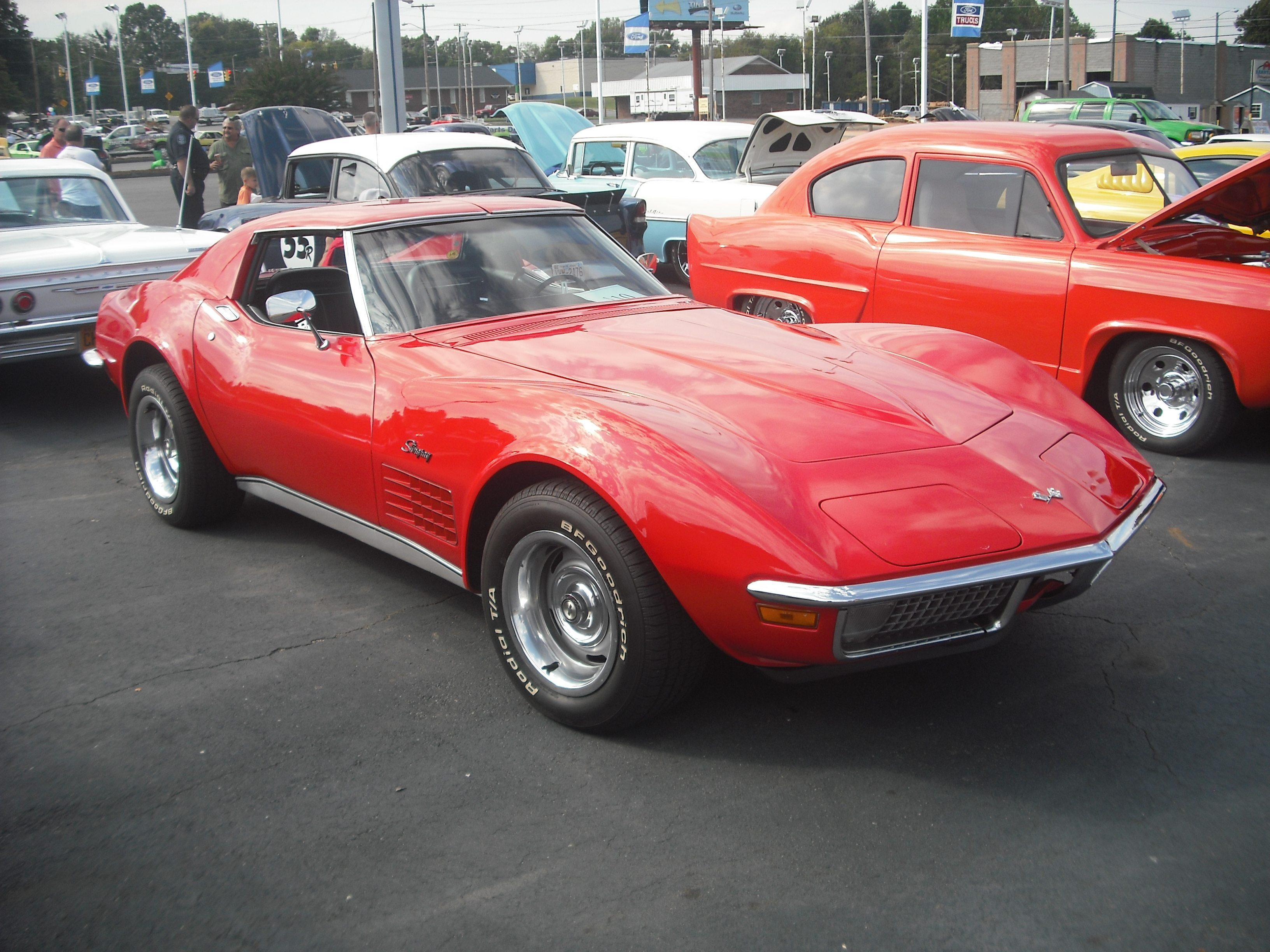 1971 C3 Corvette Ultimate Guide Overview Specs Vin Info Chevy 400 Transmission Identification