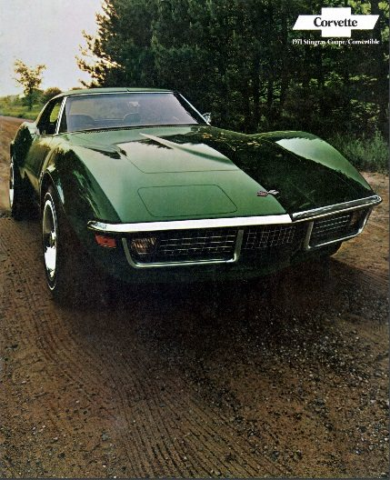 1971 Corvette Dealers Sales Brochure