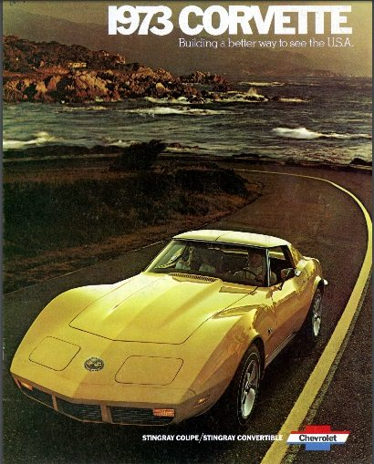 1973 Corvette Dealers Sales Brochure