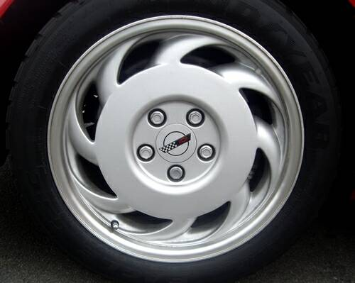 1991 Corvette wheels