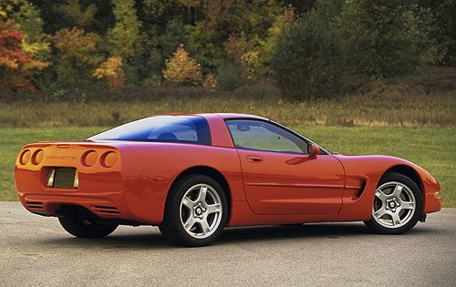 C5 Corvette unveiled on January 6