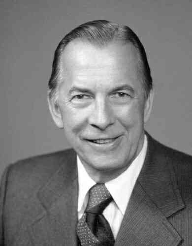 Edward Cole, president of General Motors