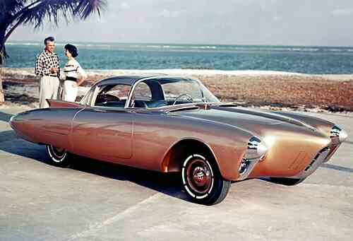 "Oldsmobile ""Golden Rocket"""