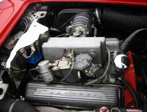 1960 Corvette Engine