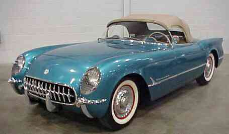 1954 c1 corvette ultimate guide (overview, specs, vin infoWiring Together With Purchase 53 54 55 Corvette Original Door Sill #21