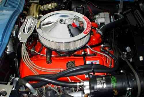 1967 Corvette Engine