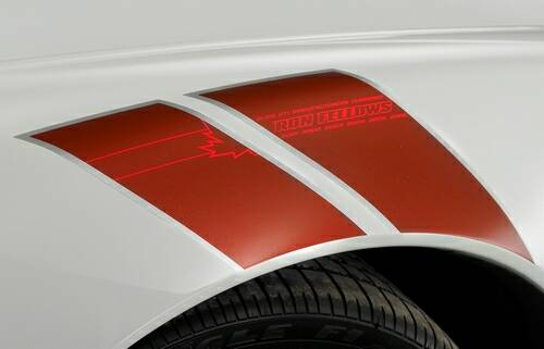 Ron Fellows Edition Z06 front fender