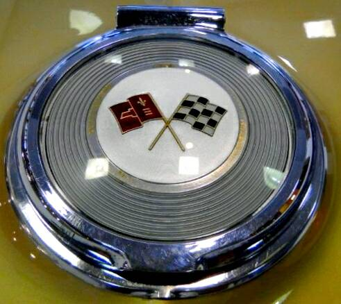 The 1964 Corvette Fuel Filler Cap.