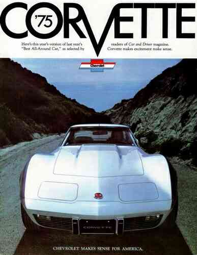 1975 Chevrolet Corvette Ad