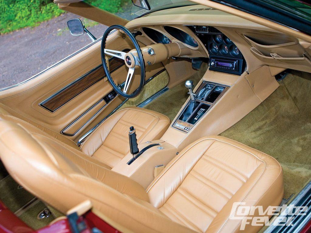 1973 Corvette interior