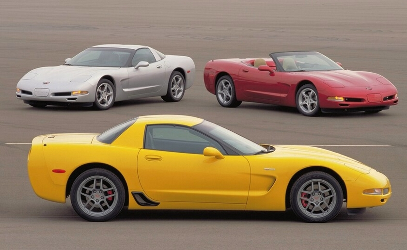 The 2001 Corvette featured the track-ready Z06 as well as the coupe and convertible models.