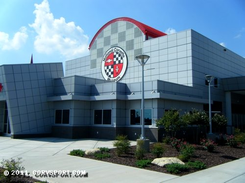 The Corvette Museum in Bowling Green, Kentucky.