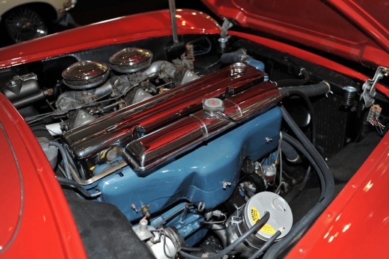 1953 C1 Corvette Engine