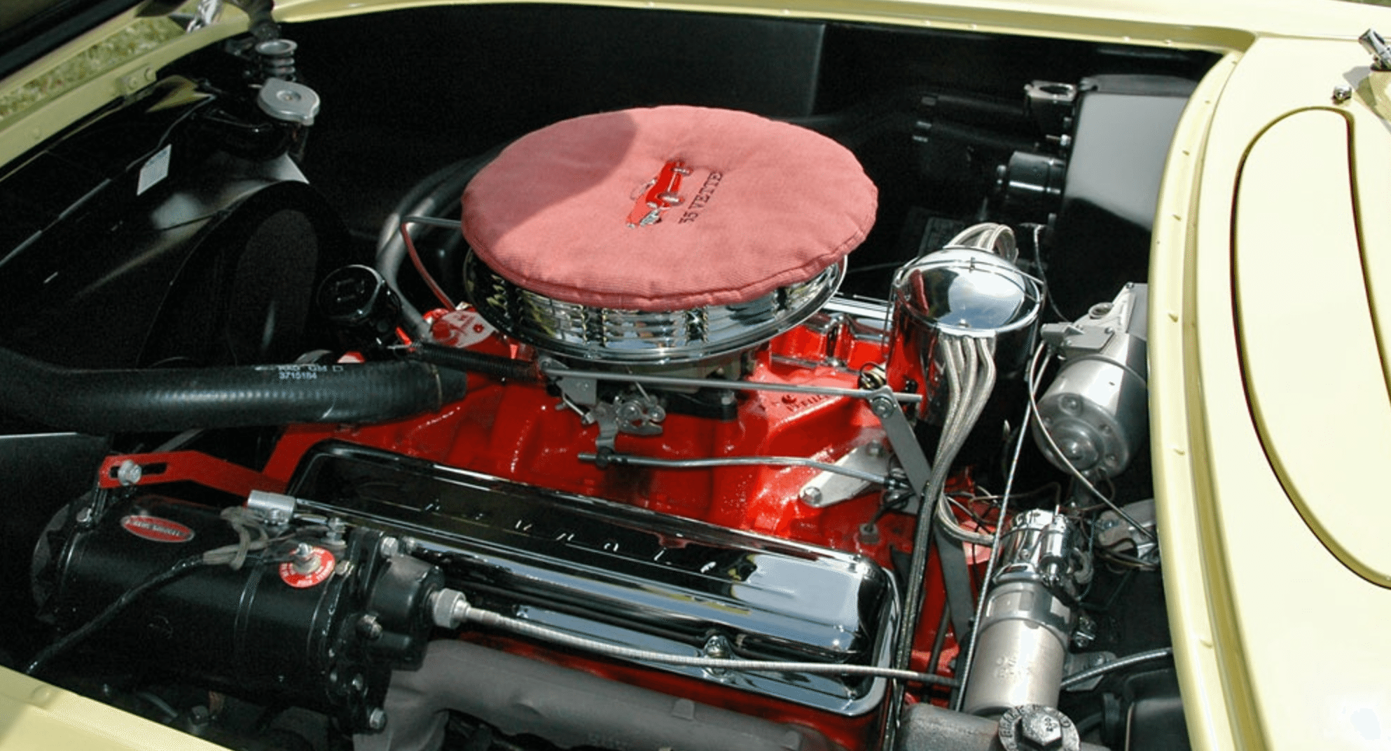 1955 C1 Corvette Engine