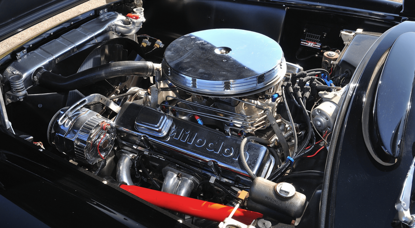 1956 C1 Corvette Engine