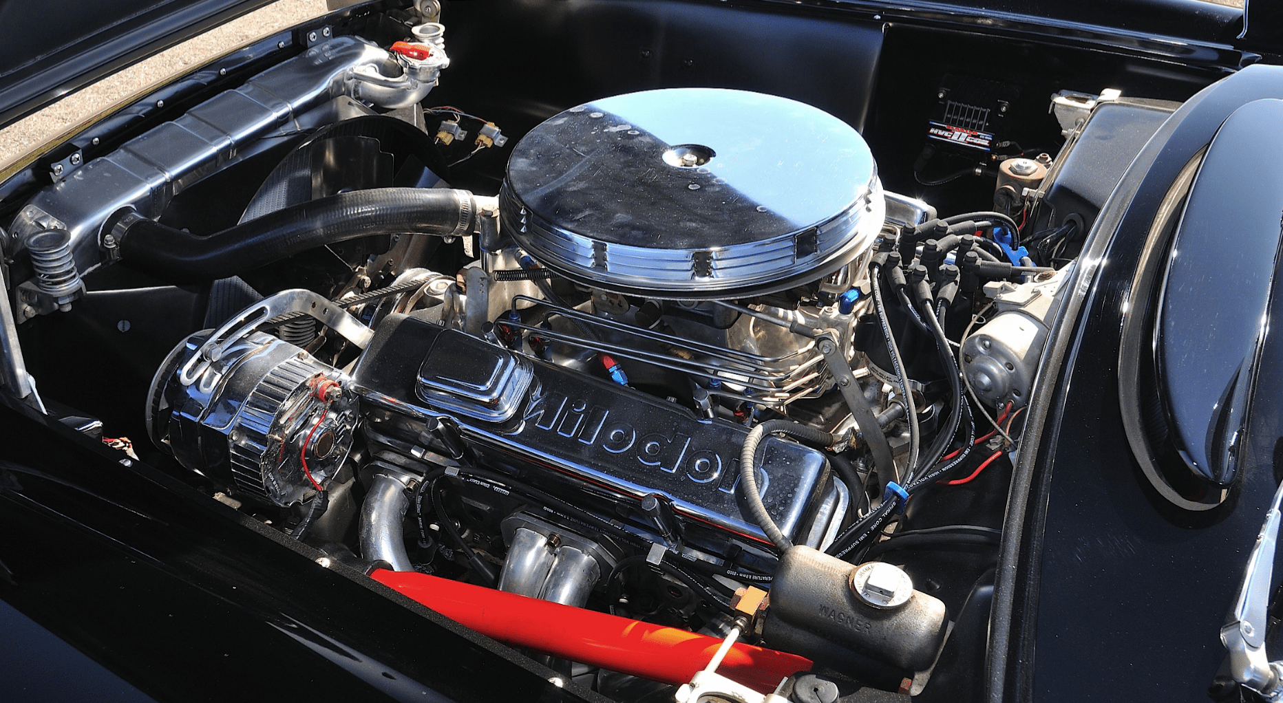1956 C1 Corvette Engine