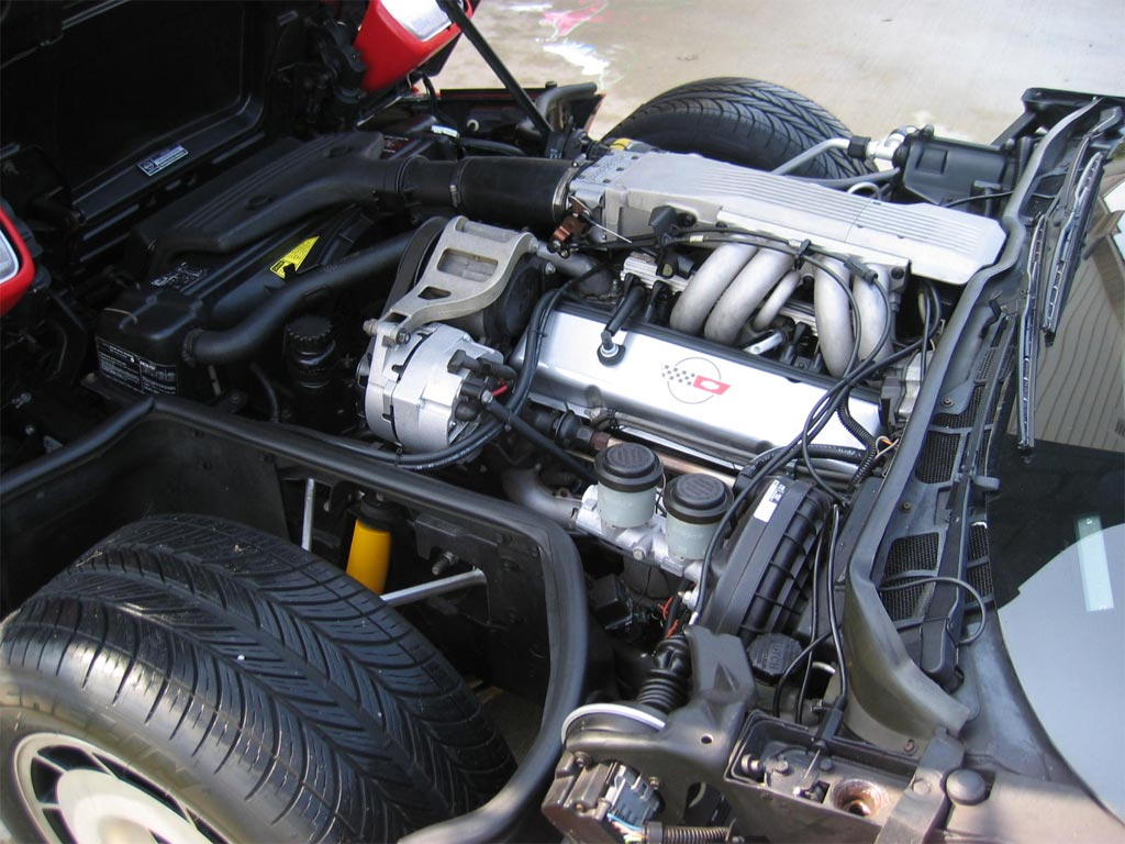 1986 Corvette Engine