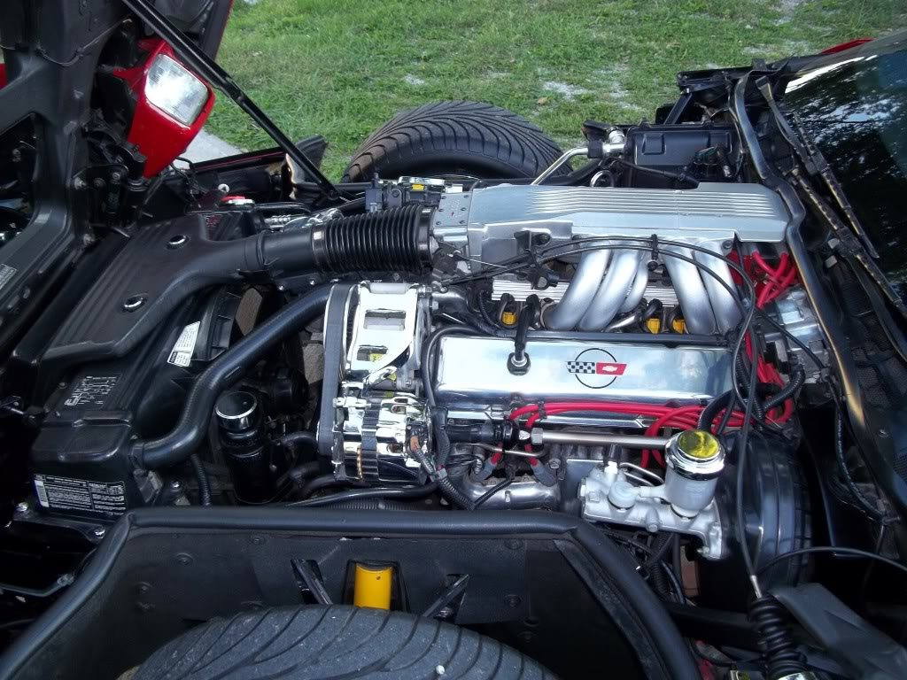 C4 Engine Bay