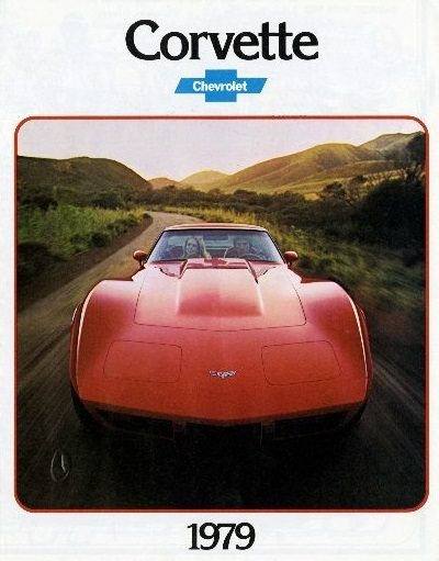 1979 Corvette Dealers Sales Brochure