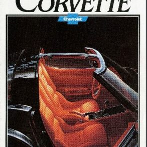 1980 Corvette Dealers Sales Brochure