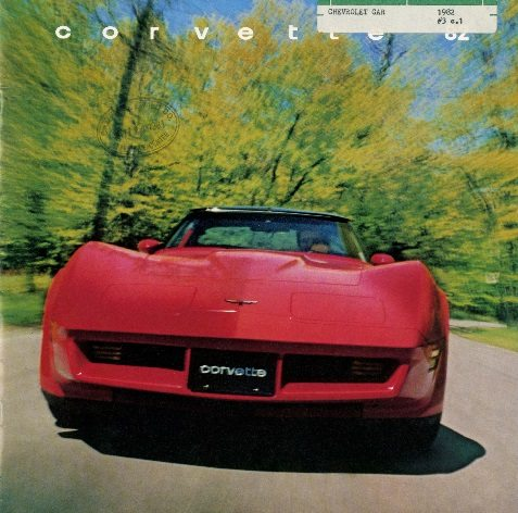 1982 Corvette Dealers Sales Brochure