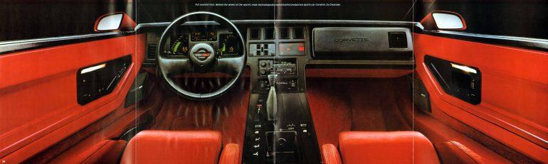 1985 Corvette Interior