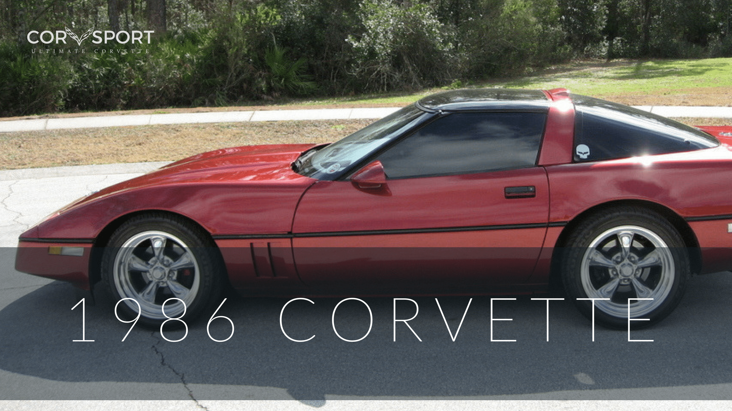 1986 C4 Corvette Ultimate Guide Overview Specs Vin Info Chevy 350 Alternator With Amp Gauge Wiring Diagram Article