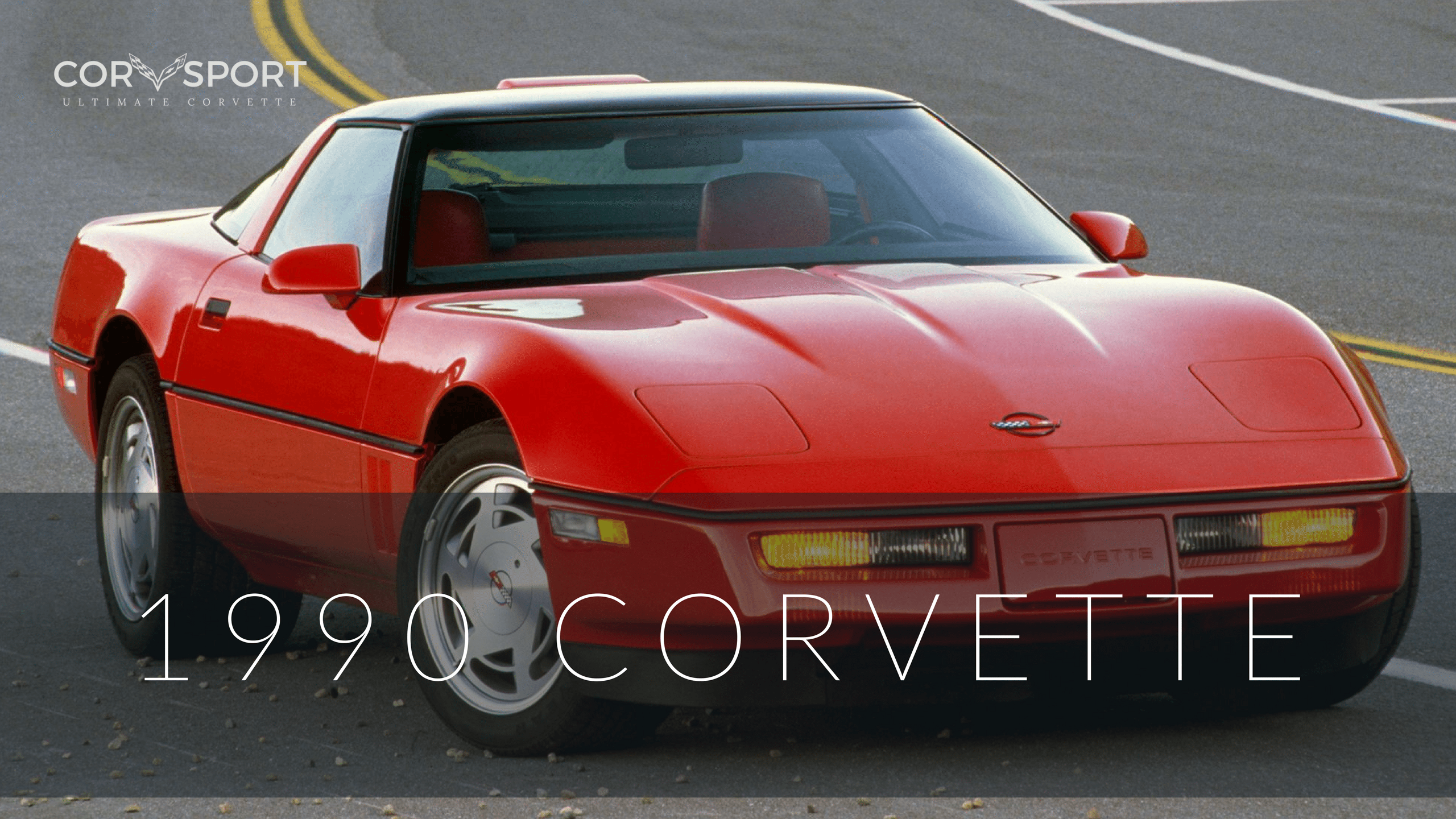 1990 C4 Corvette Ultimate Guide Overview Specs Vin Info Dark Red Engine Coolant Article