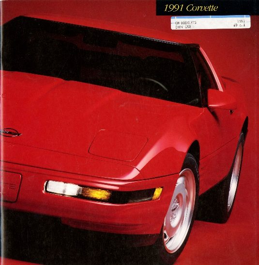 1991 Corvette Dealers Sales Brochure
