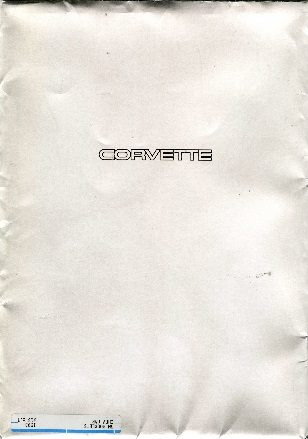 1993 Corvette Dealers Sales Brochure