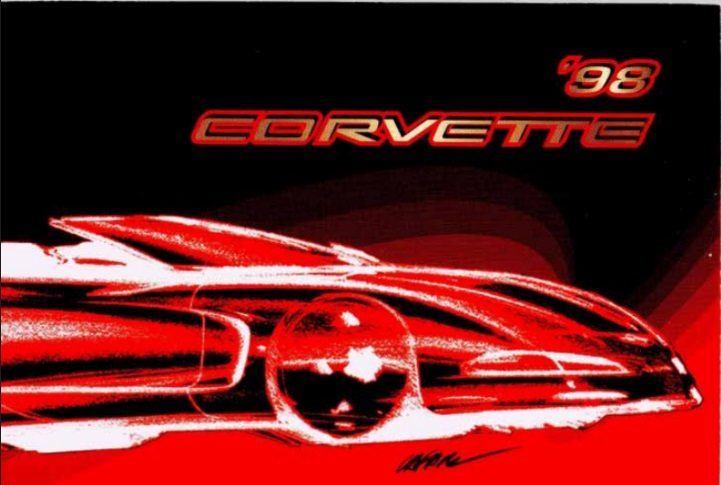 1998 Corvette Owners User Manual
