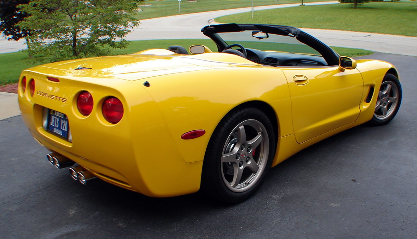 2000 corvette yellow convertible millenium speed c5 chevrolet corvettes corvsport