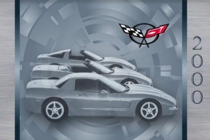 2000 Corvette Owners User Manual