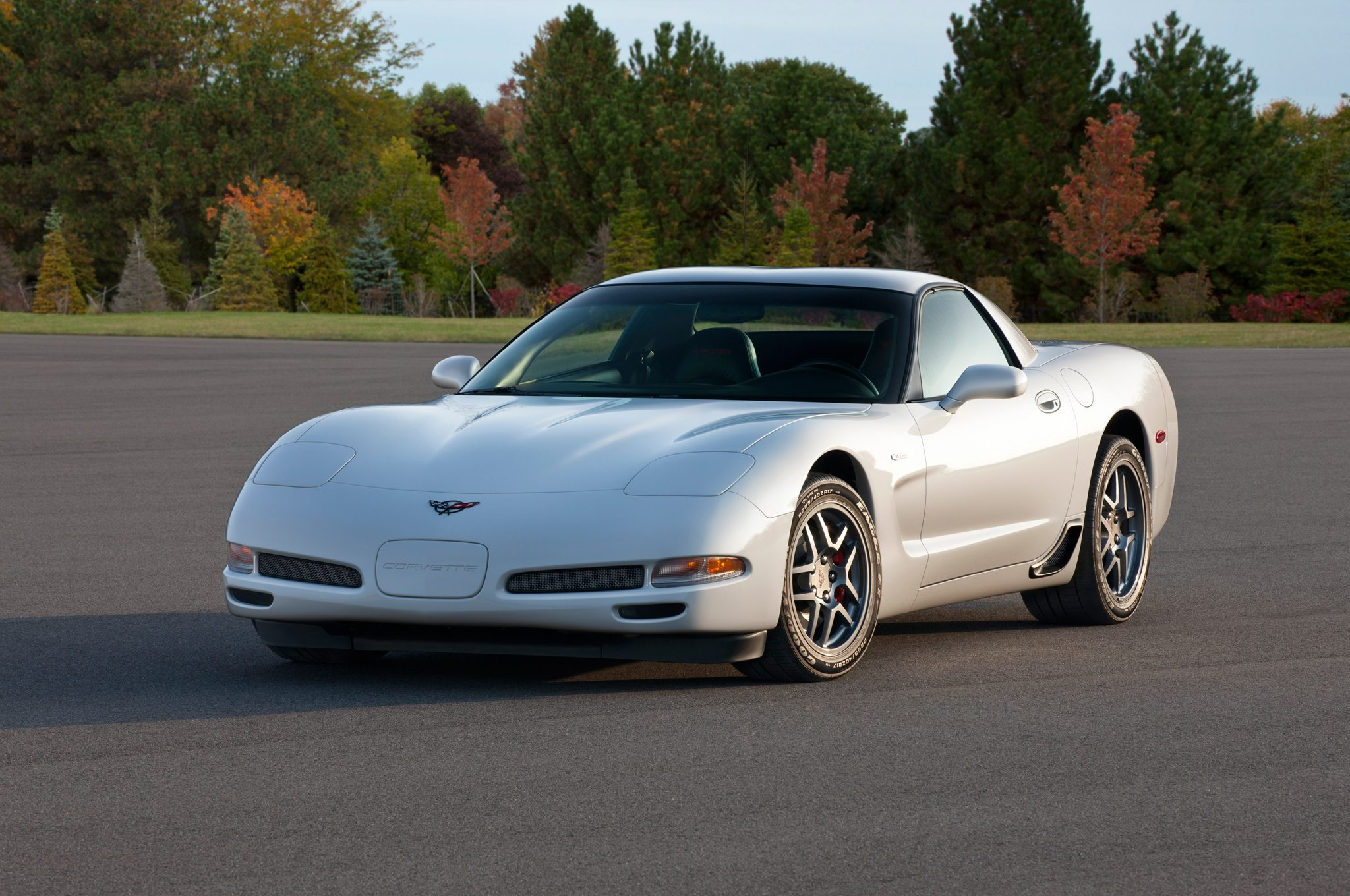 The 2001 c5 chevy corvette coupe image courtesy of gm media