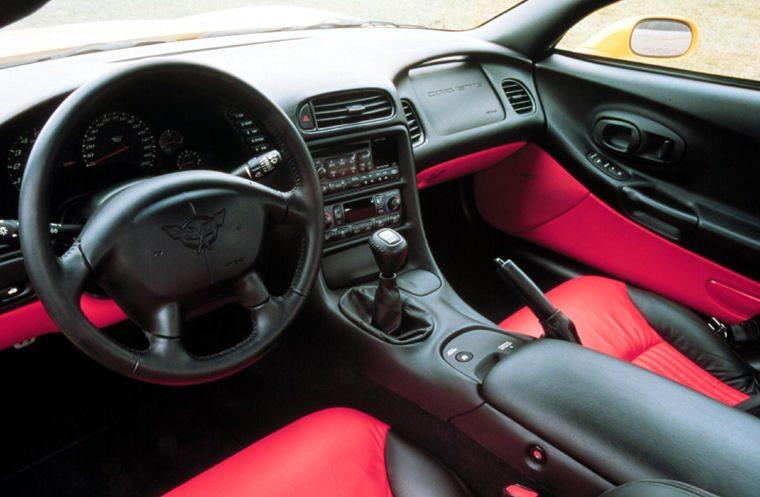 2002 Corvette Interior
